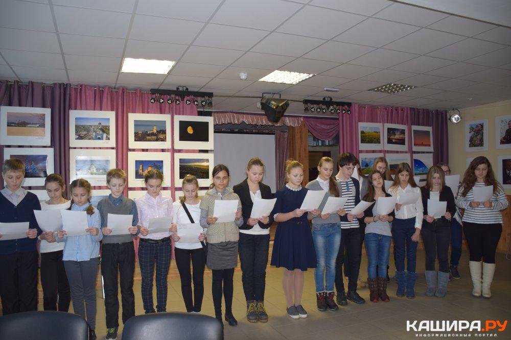 Вручение удостоверений юным журналистам