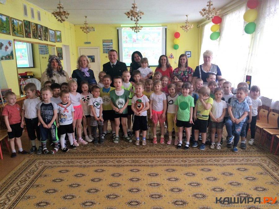 Занятие по ПДД для воспитанников детского сада провели инспекторы ГИБДД