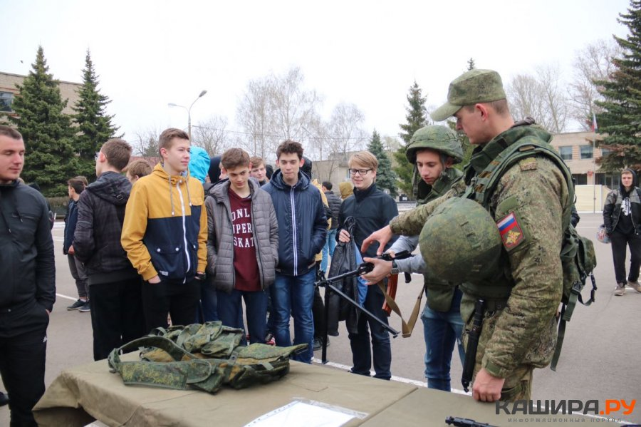 День призывника состоялся в воинской части