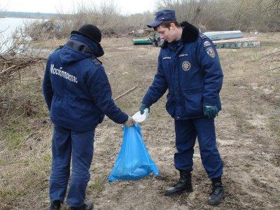 Каширские спасатели приняли участие в акции