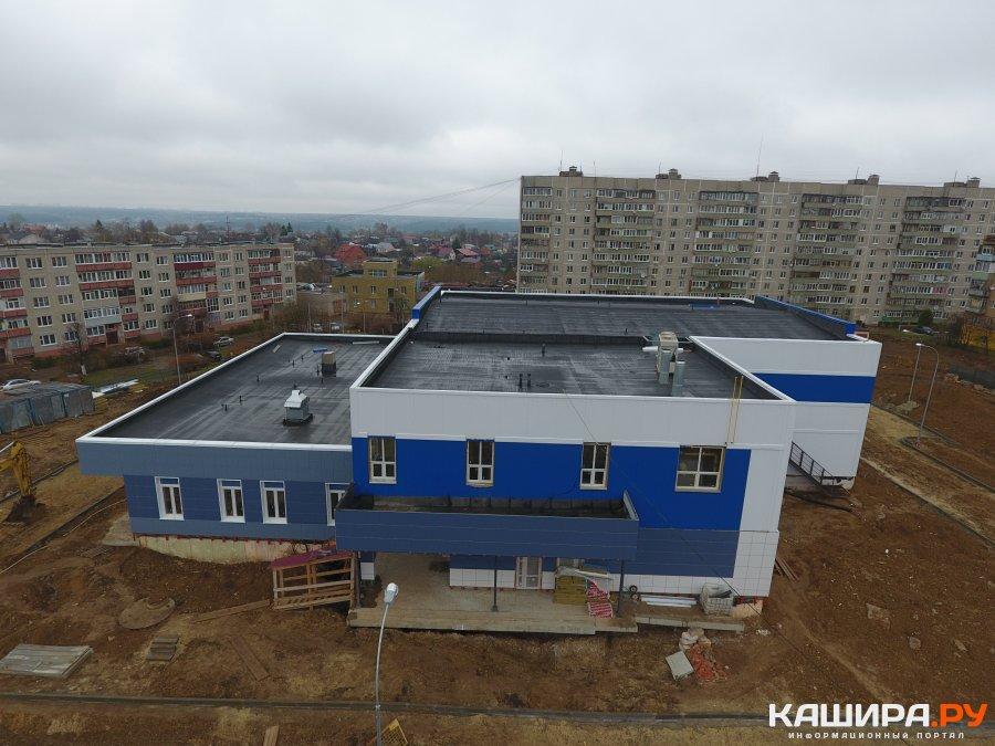 Завершающий этап строительства ФОКа в микрорайоне №3