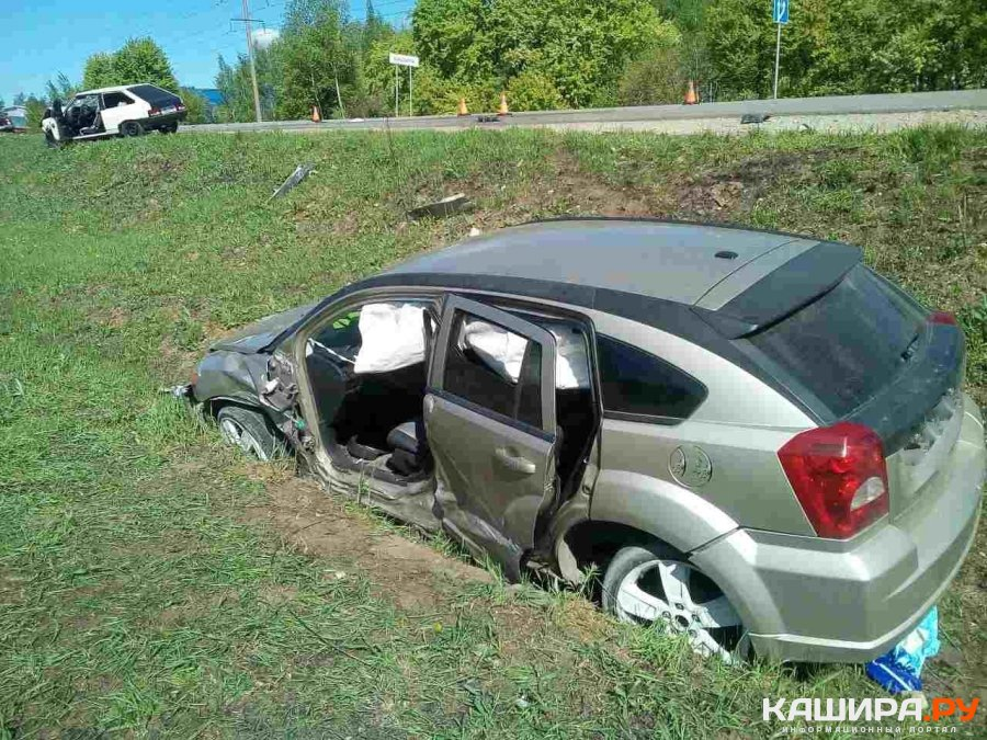 В результате ДТП один из водителей госпитализирован