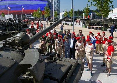 Каширский отряд юнармейцев принял участие во II Всероссийском слете