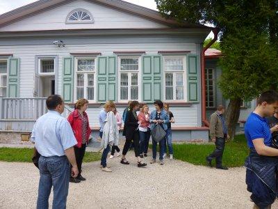 Сотрудники каширского ТУ посетили музей-усадьбу Абрамцево