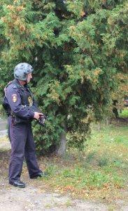 Каширский ОВО подготовился к проведению учений по стрельбе из автоматического оружия