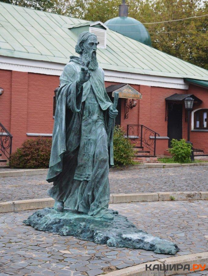 Скульптуру Сергия Радонежского установят в Кашире
