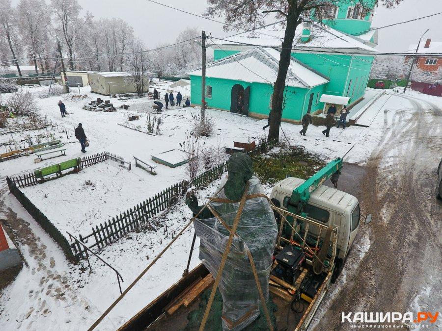 В Кашире появился новый памятник святому