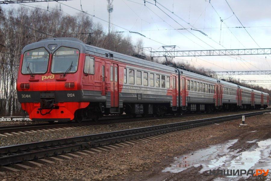 Поезд Ожерелье – Узловая временно меняет расписание
