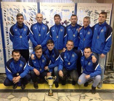 ФК «Выбор» и ФШ «Кашира» получили заслуженные награды